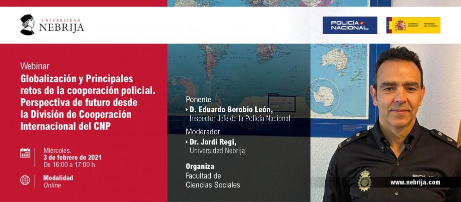 Globalización y principales retos de la cooperación policial
